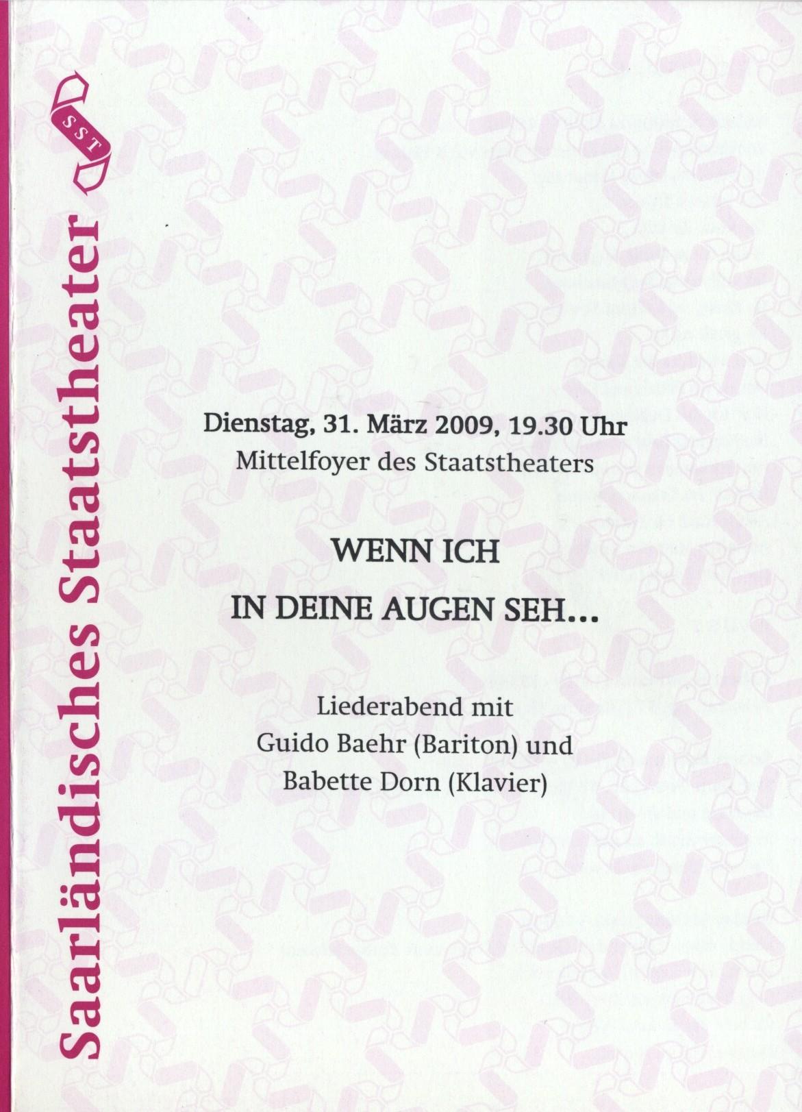 2009 Saarbrücken