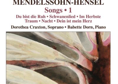 Fanny Mendelssohn-Hensel: Lieder, Vol. 1 + 2